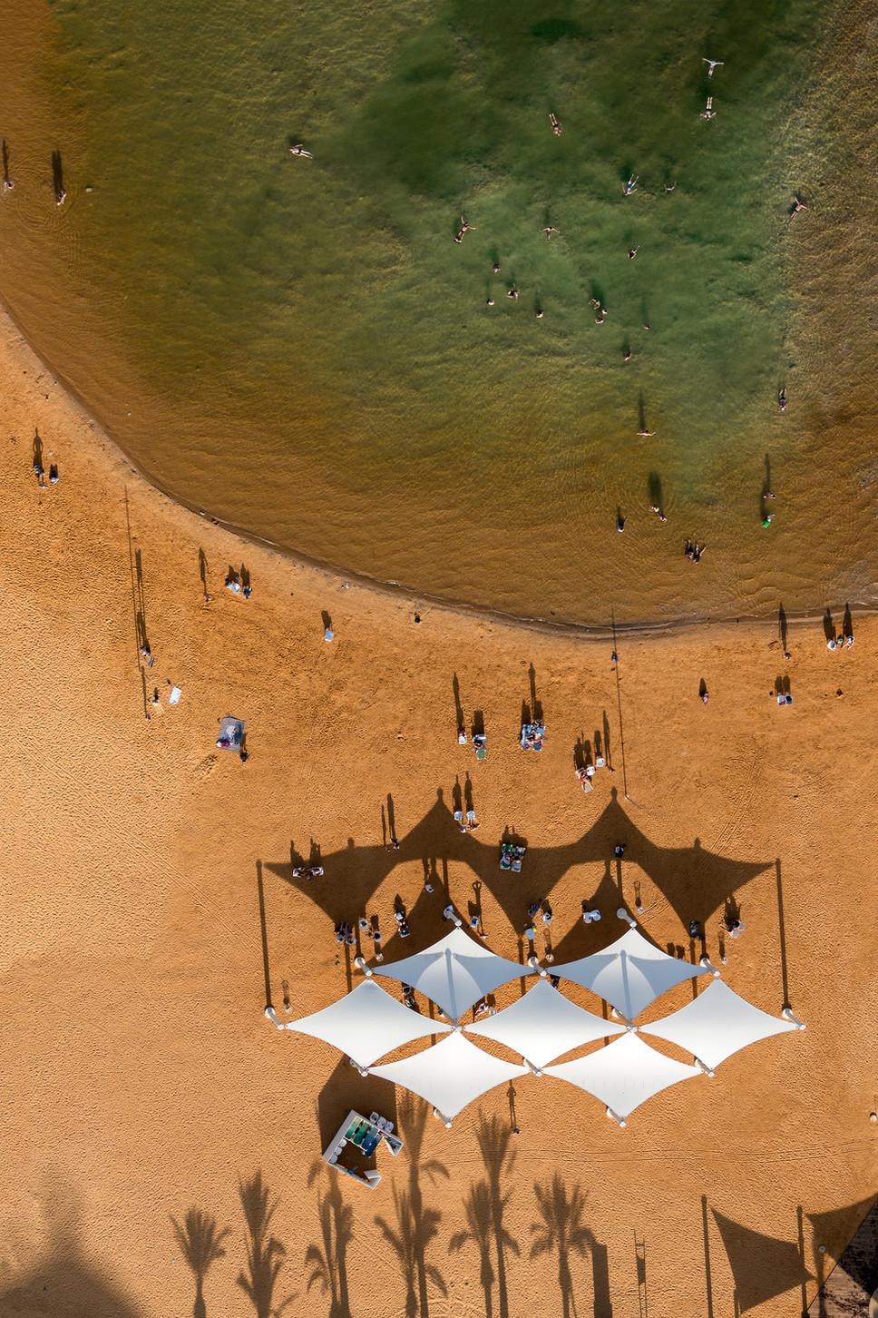 Ein Bokek Beach Umbrellas #2