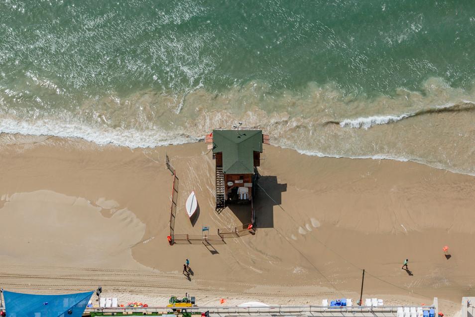 Mediterranean Coast_Israel_Lifeguard Tow