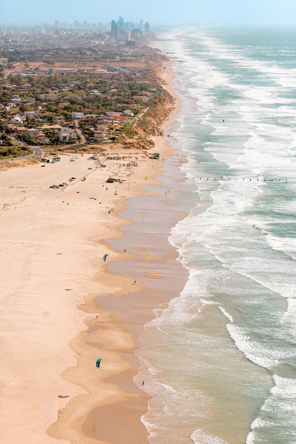 Mediterranean Coast_Israel_Beach and Kit