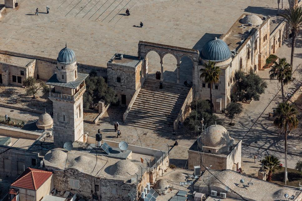 Jerusalem_Old City_Bab al-Silsila Minare