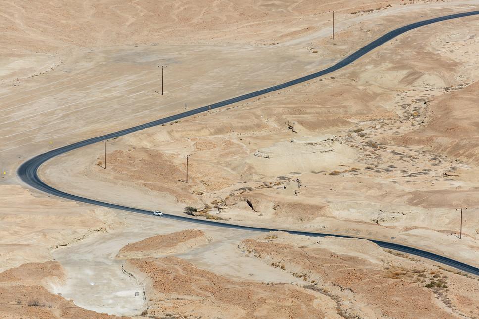 Judean Desert_Road and Car 1.jpg