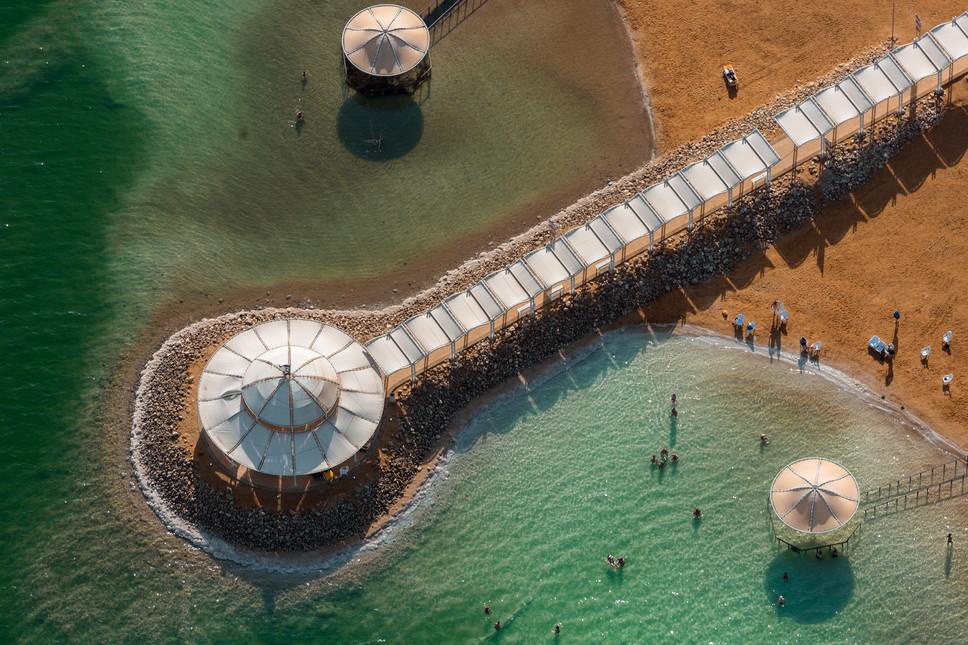 Dead Sea Beach Umbrellas #5
