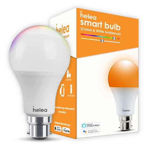 Helea 12W Smart Bulb - Colour & White Ambiance