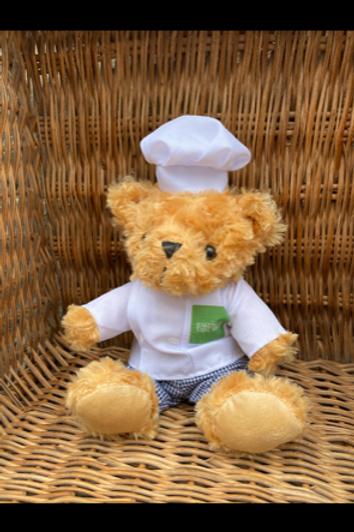 "The Bakewell Tart Shop Bear - ""Sean the Chef"""
