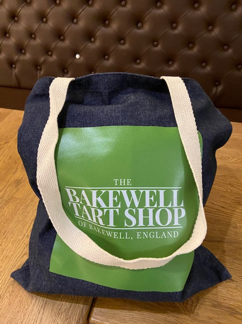 The Bakewell Tart Shop Tote Bag
