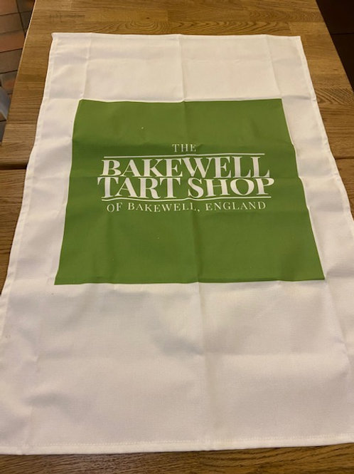 The Bakewell Tart Shop Tea Towel