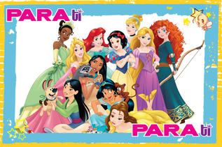 #DISNEYFAN MARZO MES DE PRINCESAS EN DISNEY JUNIOR