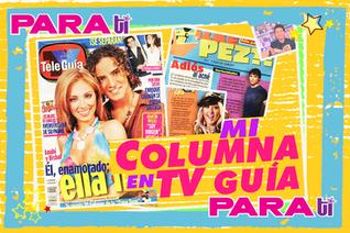 #TVGUIA  ¡EL COLUMNISTA MÁS JOVEN DE TELE GUÍA!