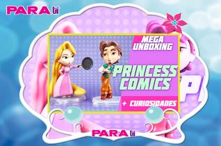 #DISNEY UNBOXING ¡PRINCESS COMICS DE HASBRO!