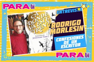 #BOOKS  RODRIGO MORLESIN ¡ENTREVISTA EXCLUSIVA!
