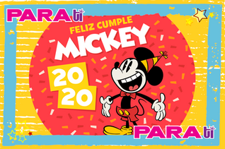 #DISNEY CELEBRA EL CUMPLEAÑOS 92 DE MICKEY MOUSE