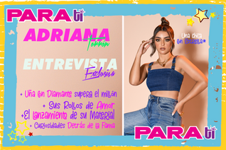#YEAH  ADRIANA TORRON ¡UNA CHICA CON ESTRELLA!