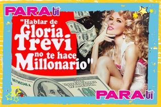 """#OMG """"HABLAR DE GLORIA TREVI NO TE HACE MILLONARIO"""" AFIRMA ESCRITOR"""