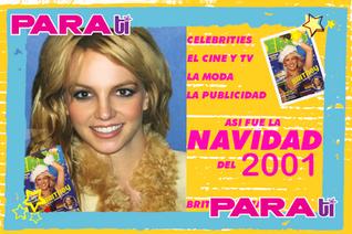 #NAVIDAD BRITNEY SPEARS LA REINA DE LA NAVIDAD 2001