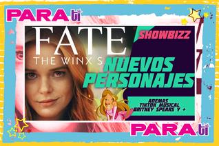 #SHOWBIZZ WINX THE FATE SAGA ¡NUEVOS PERSONAJES!