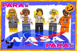 ¡MERECIDO TRIBUTO!  LEGO LANZA FIGURAS DE 4 BRILLANTES MUJERES DE LA NASA