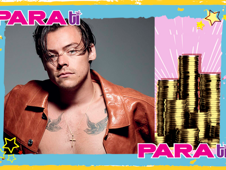 "#OMG HARRY STYLES ¡ASÍ QUEMA SU ""MONEY MONEY""!"