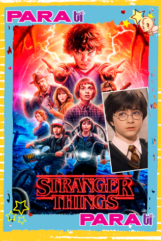 """¡WTF! """"STRANGER THINGS"""" COMPETIRÁ CON """"HARRY POTTER"""""""
