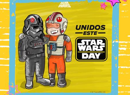 CELEBRA EL DÍA DE  STAR WARS
