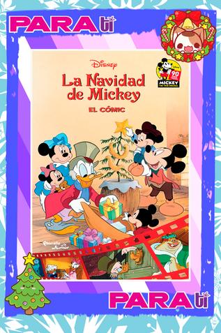 #COOLBOOKS LA NAVIDAD DE MICKEY