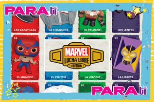 #MARVEL ¡PRESENTA NUEVOS LUCHADORES DE LA AAA!