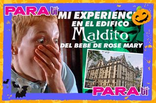 #HALLOWEEN ¡ESTUVIMOS EN EL EDIFICIO MALDITO DEL BEBÉ DE ROSEMARY!