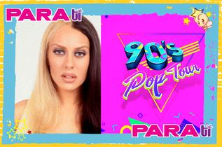 """¡OMG! MÓNICA NARANJO CON UN PIE EN EL """"90´S POP TOUR"""""""