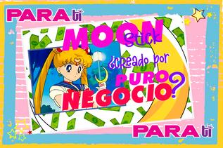 #MOONIE SAILOR MOON EL MOON STICK ¿CREADO POR PURO NEGOCIO?