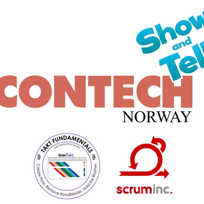 Contech - Scrum og Takt - Show and tell