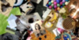Diese Collage aus eigenen Fotos zeigt meinen space, meine Welt.