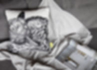 Illustration schlafender Fuchs für von E