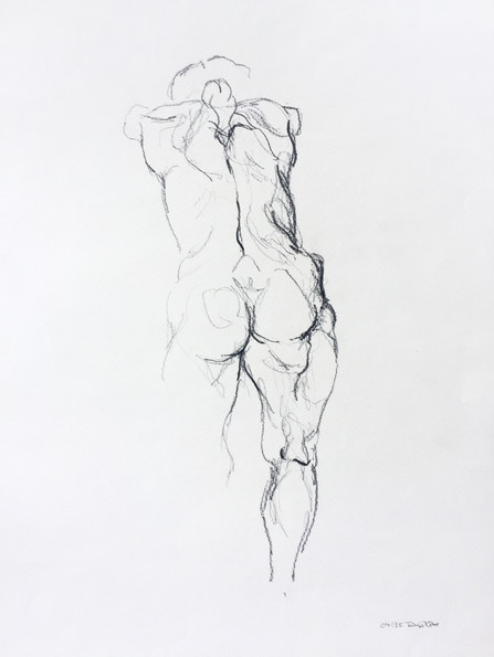 Naked woman.