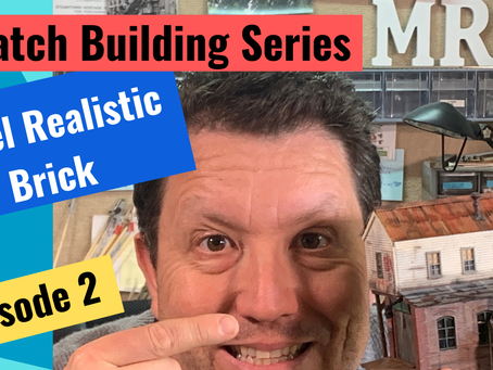 How to Model Realistic Looking Brick-What you need to know- Scratch Building Series