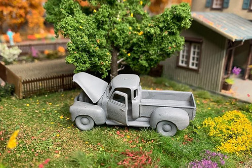 1955 Chevrolet Utility/Pickup- 3D HO Scale 3D printed kit
