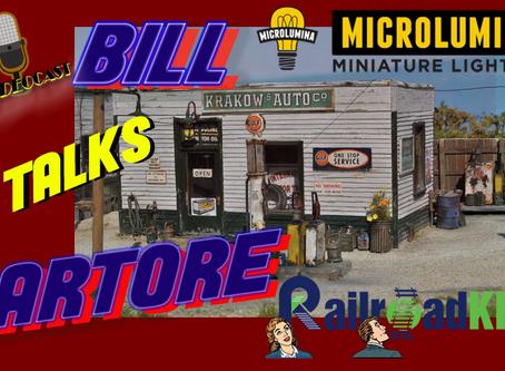 MRT Video Podcast #6-Bill Sartore talks Railroad Kits and Microlumina