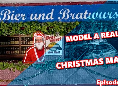 Model a realistic Christmas market. Episode 2.