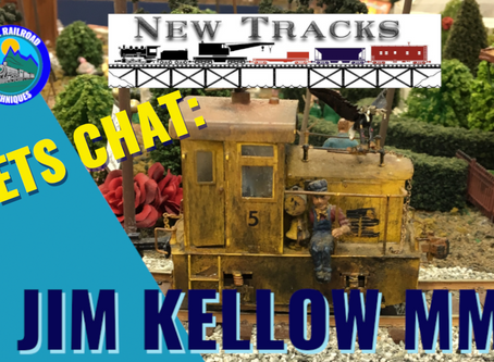 MRT Video podcast #1| Lets talk New Tracks with Jim KELLOW Master Model Railroader.