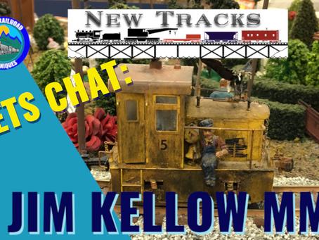 MRT Video podcast #1| Lets talk New Tracks with Jim KELLOW Master Model Railroader.