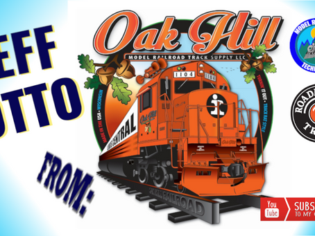 Hand Laying Track with Jeff Otto Oak Hill Track Supply