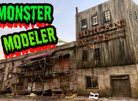 In Video Podcast #14-Monster Modeller tips and techniques-James A Powell