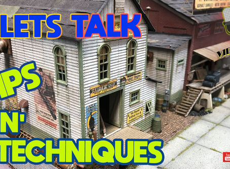 MRT Video Podcast #12-Scale Modelling Tips and Techniques