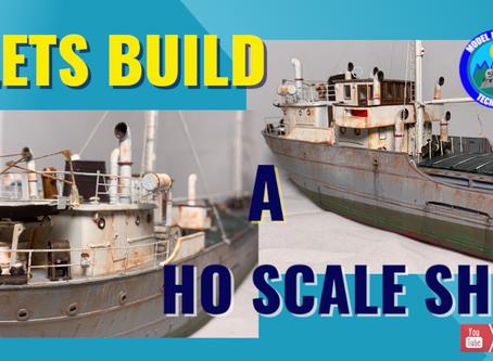Lets Model a HO Scale  Coaster-Episode 1.