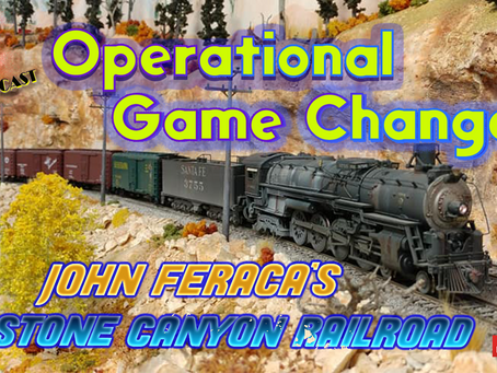 MRT Video Podcast #11-Stone Canyon Railroad The Operational Game Changer