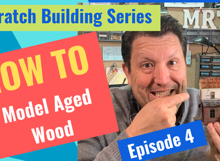 HOW TO MODEL AGED WOOD-Episode 4.