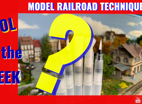 Lets use Water Brushes for Model Railroading- Product Review- All you need to know.
