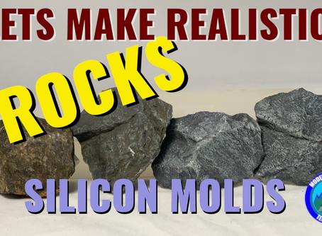 Lets Make A Silicon Mold!!! Realistic Rocks
