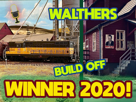 Greg Baker Walthers National Model Railroad Build Off Winner-2020