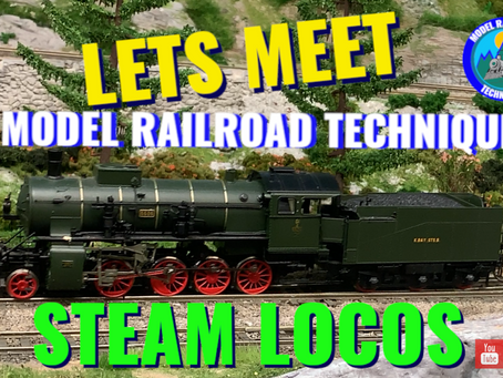 Lets meet Model Railroad Techniques Steam locomotives Top 14