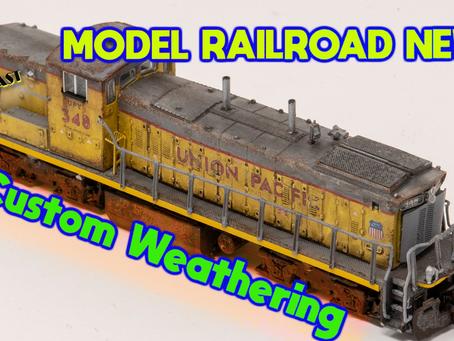 MRT Video Podcast #27 Lets talk Model Railroad News & Custom Weathering