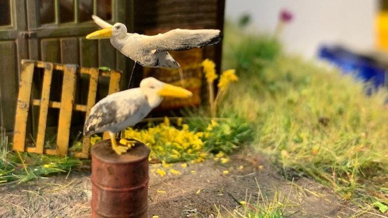 Pelicans 3D Printed